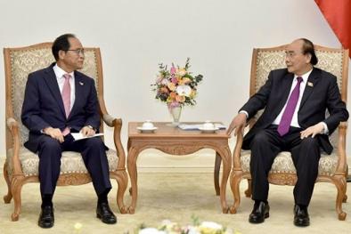 Thủ tướng Nguyễn Xuân Phúc tiếp các tập đoàn công nghệ cao hàng đầu Hàn Quốc