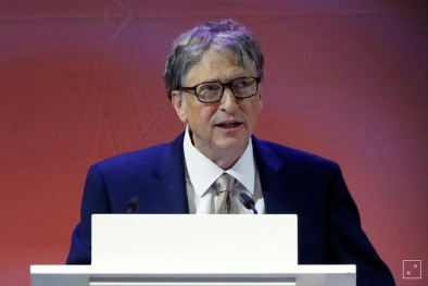 Tỷ phú Bill Gates kiếm hơn 4.600 USD/giây