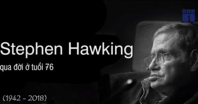 Video: Thiên tài vật lý Stephen Hawking và những cống hiến khiến nhân loại kính nể