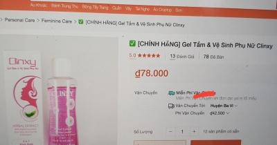 Không đạt yêu cầu chất lượng, Clinxy gel của mỹ phẩm Minh Phước bị thu hồi