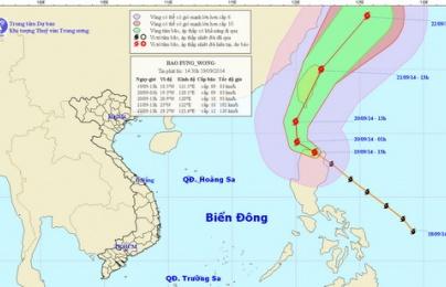 Thông tin mới nhất về bão Fung Wong ngày 20/9: Thời tiết Nam bộ sẽ bị ảnh hưởng gián tiếp