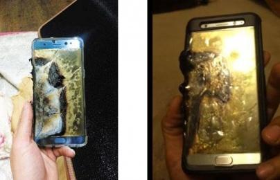 Điện thoại Samsung Galaxy Note 7 bản mới vẫn phát nổ khi đang chạy