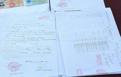 Chiêu trò làm giả con dấu, giấy tờ mua trả góp để chiếm đoạt tài sản