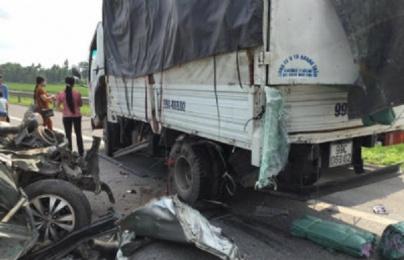 Trách nhiệm đền bù khi xe vận chuyển hàng hóa bị tai nạn