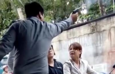 Giám đốc công ty bảo vệ nổ súng dọa phụ nữ: Người trong cuộc lên tiếng