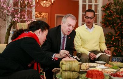 Đại sứ Mỹ Ted Osius: Tôi rất thích Tết Nguyên Đán