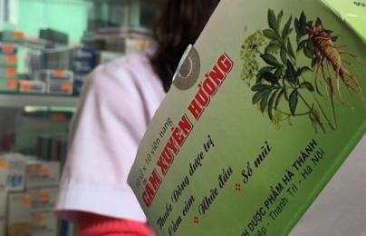 Cảm Xuyên Hương 'phớt lờ' lệnh thu hồi sản phẩm kém chất lượng?