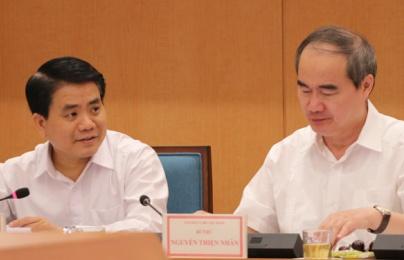 Lãnh đạo Hà Nội, TPHCM họp bàn về cải cách hành chính