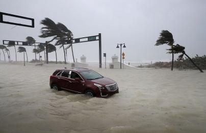 Cảnh tượng khủng khiếp sau siêu bão LAN