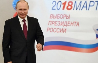 Chiến thắng áp đảo, ông Putin tiếp tục đắc cử Tổng thống Nga