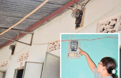 Luật sư: Phạt đến 10 triệu đồng nếu chủ nhà trọ thu tiền điện giá cao