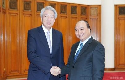 Đề nghị Singapore đẩy mạnh hợp tác về đổi mới sáng tạo với Việt Nam
