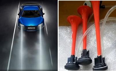 Sai lầm khi lắp thêm còi hơi, đèn pha tối màu trên ô tô