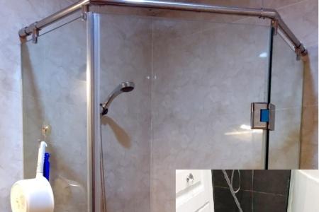 Thận trọng kẻo mang thương tích vì kính cường lực trong nhà tắm