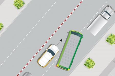 Những mối nguy hiểm 'chết người' khi chạy song song với xe ô tô khác