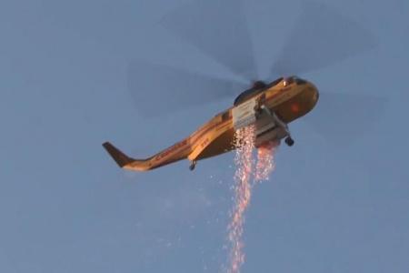 Israel thử nghiệm thành công hệ thống chữa cháy mới vô cùng hiệu quả