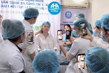 Đào tạo 'siêu ngắn', Viện thẩm mỹ AHA KOREA quảng cáo cấp chứng chỉ quốc tế?
