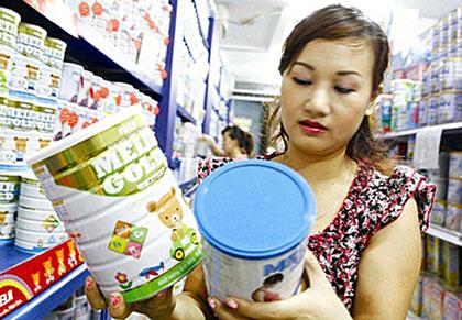 Giá sữa, Thông tin giá sữa trên thị trường