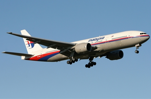 Máy bay Malaysia MH17 bị bắn rơi