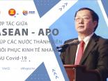 eMagazine: Hợp tác giữa ASEAN và APO giúp các quốc gia thành viên phục hồi kinh tế nhanh hậu Covid-19