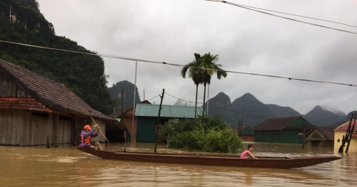 Heavy rains and floods in the Central region cause heavy damage- Implement emergency response measures
