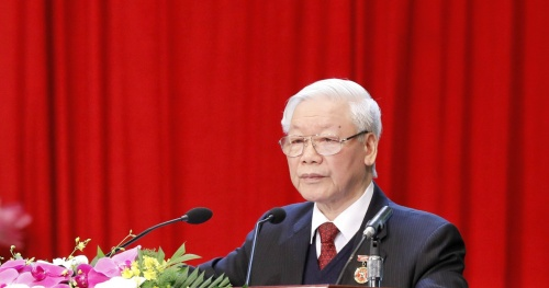General Secretary and State President Nguyen Phu Trong: Emulation is about training, training and building people