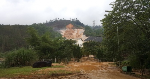The incident of water pipeline of A Luoi hydropower project has been controlled