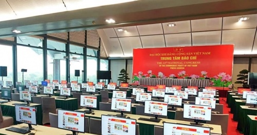 XIII Congress Press Center is ready for the grand opening