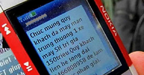 Hanoi handles phone numbers that make text messages, spam calls, and advertising improperly