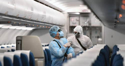 The Aviation Department raised the airport's epidemic room alert to the highest level
