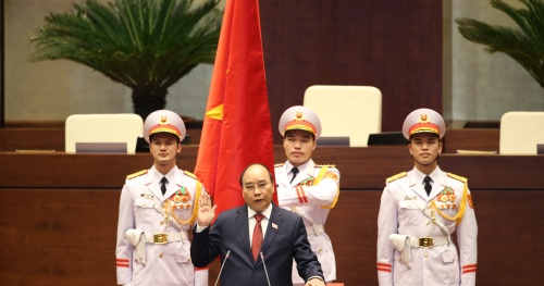 Comrade Nguyen Xuan Phuc was elected as the State President