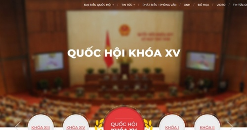 The Vietnam News Agency launches a special information site on elections