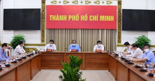 From 0:00 on May 31, Ho Chi Minh City implements social distancing