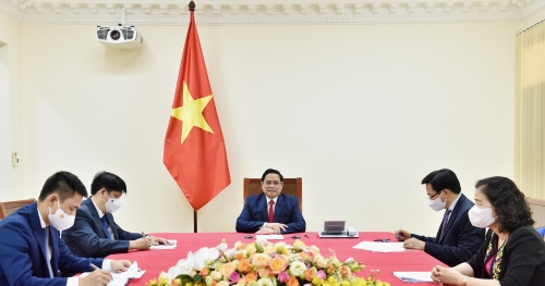 Prime Minister asked WHO to support Vietnam to become a vaccine production center in the Western Pacific region