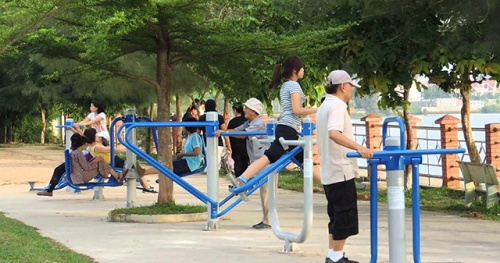 Hanoi allows outdoor sports activities, golf courses reopen from 0:00 on June 26, 2021